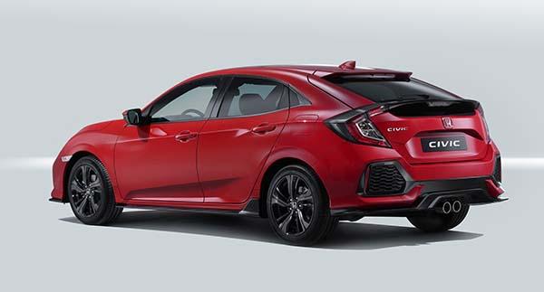 Yeni Honda Civic Hatchback 2017 yüzünü gösterdi - Otomobil