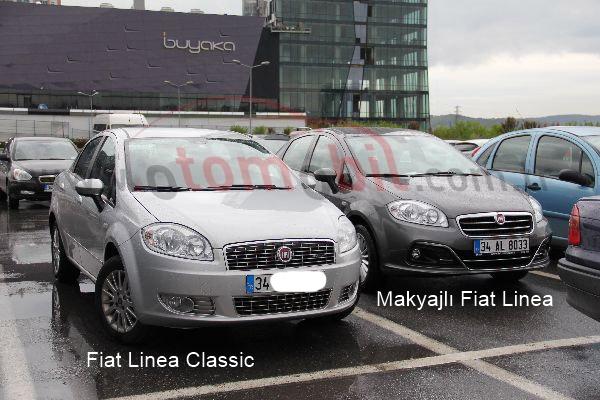 Galeri: Makyajlı Fiat Linea 2012 - Otomobil