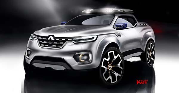 Renault Alaskan Pick-up Concept 17