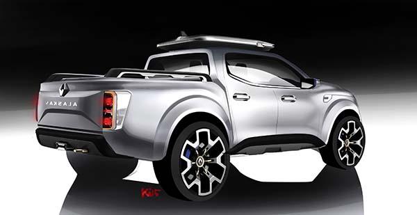 Renault Alaskan Pick-up Concept 18