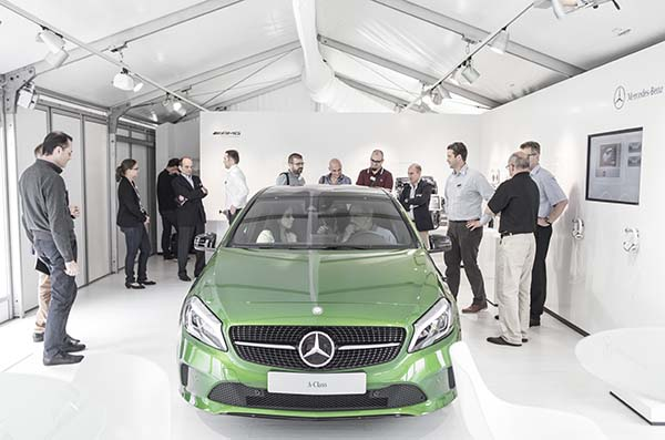 The new A-Class, TecTalk, Sindelfingen 2015