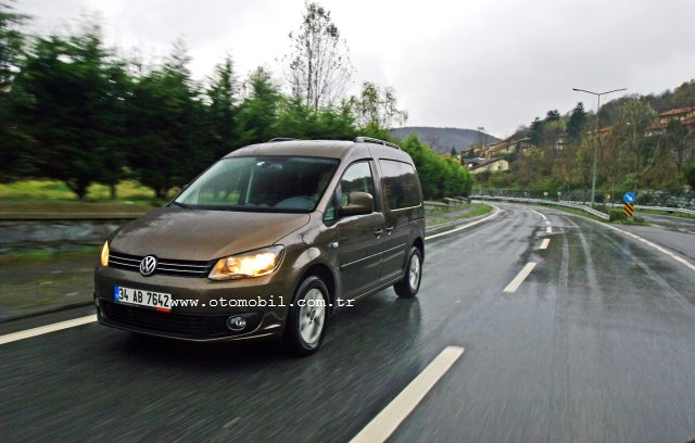 Video test: Yeni (2011) VW Caddy 1.6 TDI DSG
