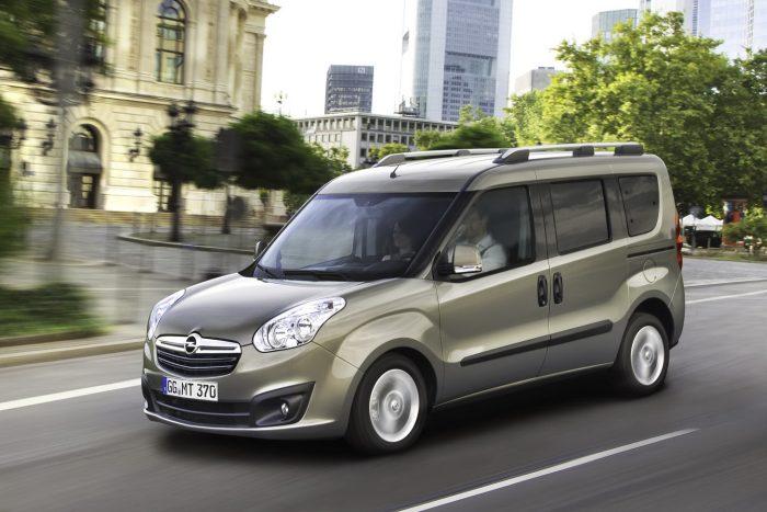 Yeni (2012) Opel Combo hazır