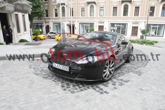 Video: Aston Martin V8 Vantage S Coupe İstanbul test sürüşü