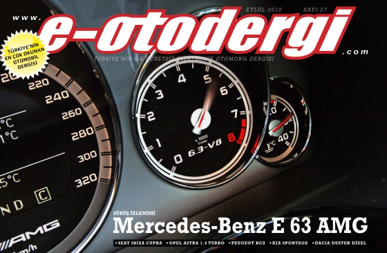e-otodergi Eylül 2010 sayısı yayına girdi
