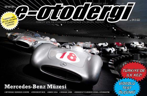 e-otodergi Aralık 2010 sayısı yayına girdi