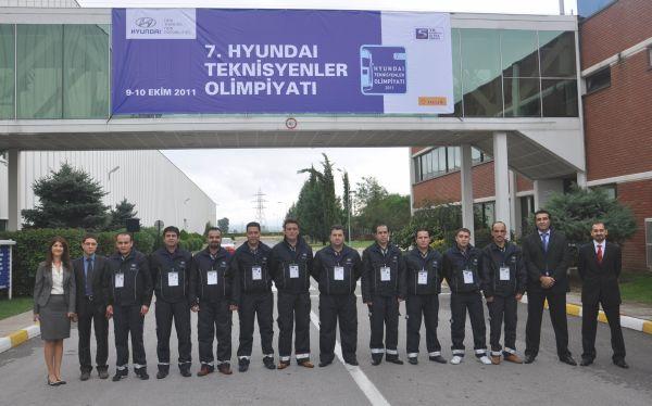 Hyundai teknisyeni Gökhan Korkmaz Kore'de yarışacak