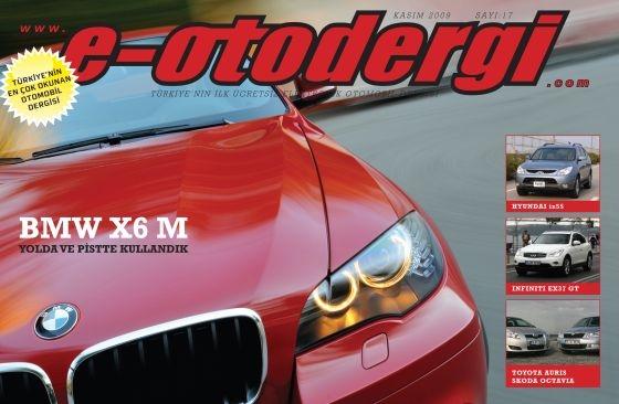e-otodergi Kasım 2009 sayısı yayına girdi