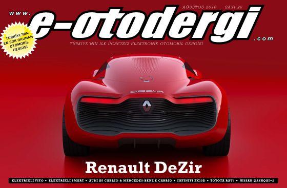 e-otodergi Ağustos 2010 sayısı yayına girdi