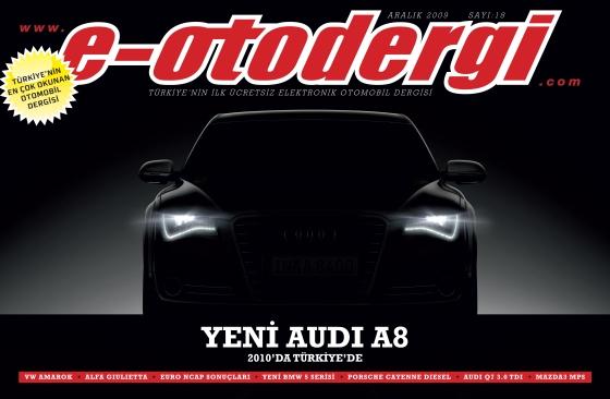 e-otodergi Aralık 2009 sayısı yayına girdi