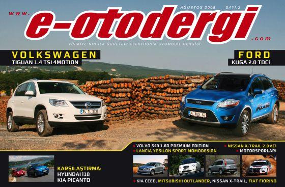 e-otodergi Ağustos 2008 sayısı yayına girdi