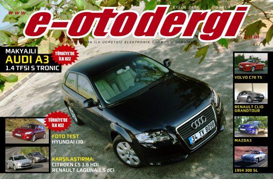 e-otodergi Eylül 2008 sayısı yayına girdi