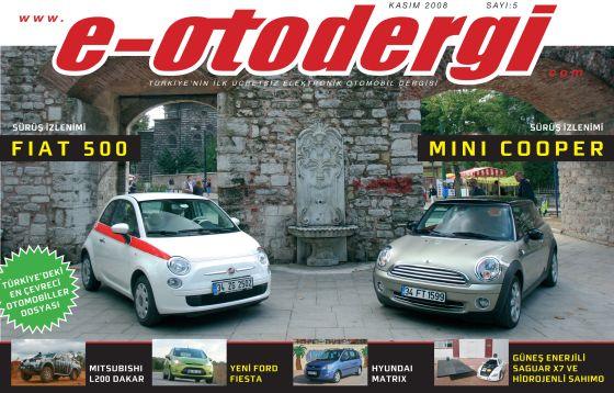 e-otodergi Kasım 2008 sayısı yayına girdi