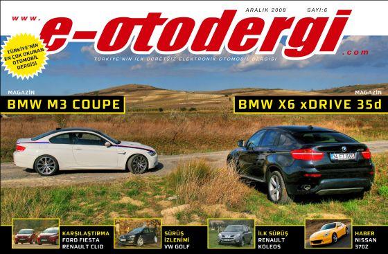 e-otodergi Aralık 2008 sayısı yayına girdi