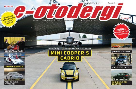 e-otodergi Mart 2009 sayısı yayına girdi