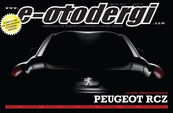 e-otodergi Mayıs 2010 sayısı yayına girdi