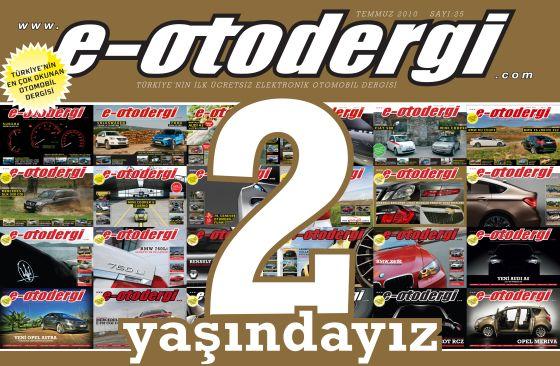 e-otodergi 2 yaşında, Temmuz 2010 sayısı yayında