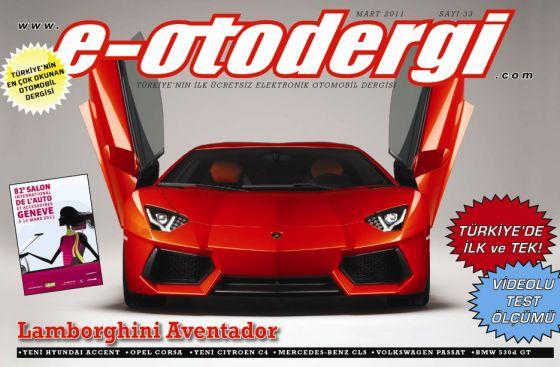 e-otodergi Mart 2011 sayısı yayına girdi