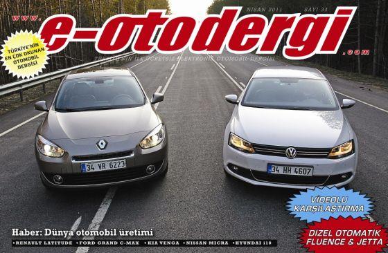e-otodergi Nisan 2011 sayısı yayına girdi