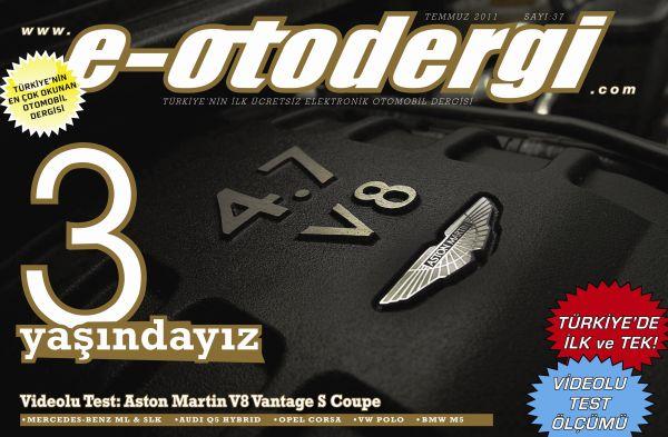 e-otodergi 3 yaşında, Temmuz 2011 sayısı yayında