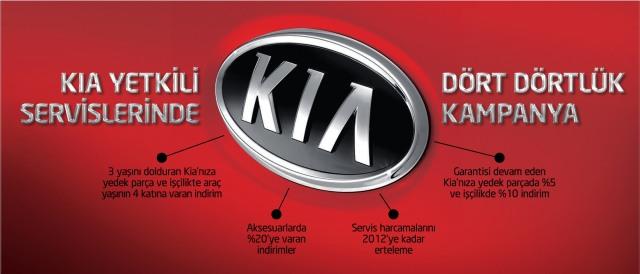 Kia'dan servis kampanyası