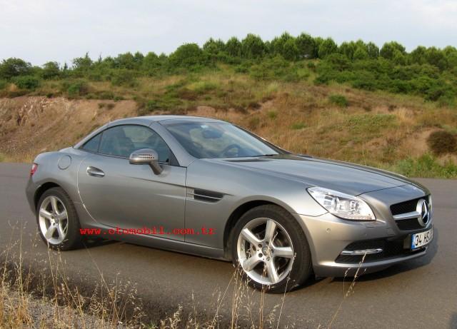Video test: Yeni Mercedes-Benz SLK 200 BlueEfficiency (0-100 km/s, 100-0 km/s)