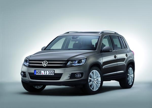 Galeri: Makyajlı Volkswagen Tiguan (2012)