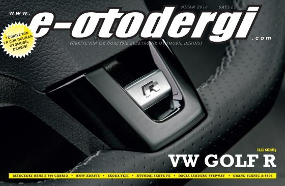 e-otodergi Nisan 2010 sayısı yayına girdi