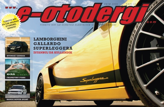 e-otodergi Ekim 2009 sayısı yayına girdi