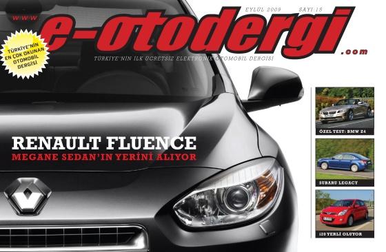 e-otodergi Eylül 2009 sayısı yayına girdi