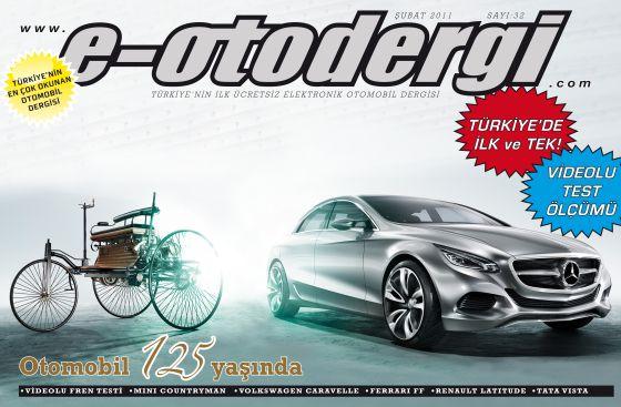 e-otodergi Şubat 2011 sayısı yayına girdi