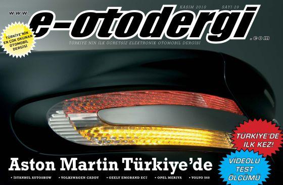 e-otodergi Kasım 2010 sayısı yayına girdi