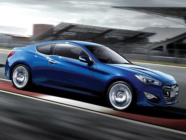 Yeni yüzlü (2012) Hyundai Genesis Coupe hazır