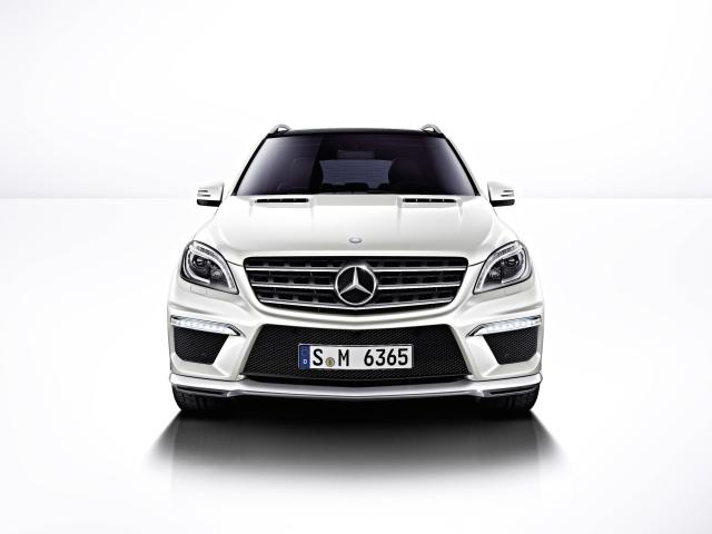 Yeni (2012) Mercedes-Benz ML 63 AMG