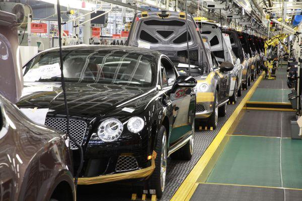 Bentley'nin Crewe fabrikası ISO 50001 aldı