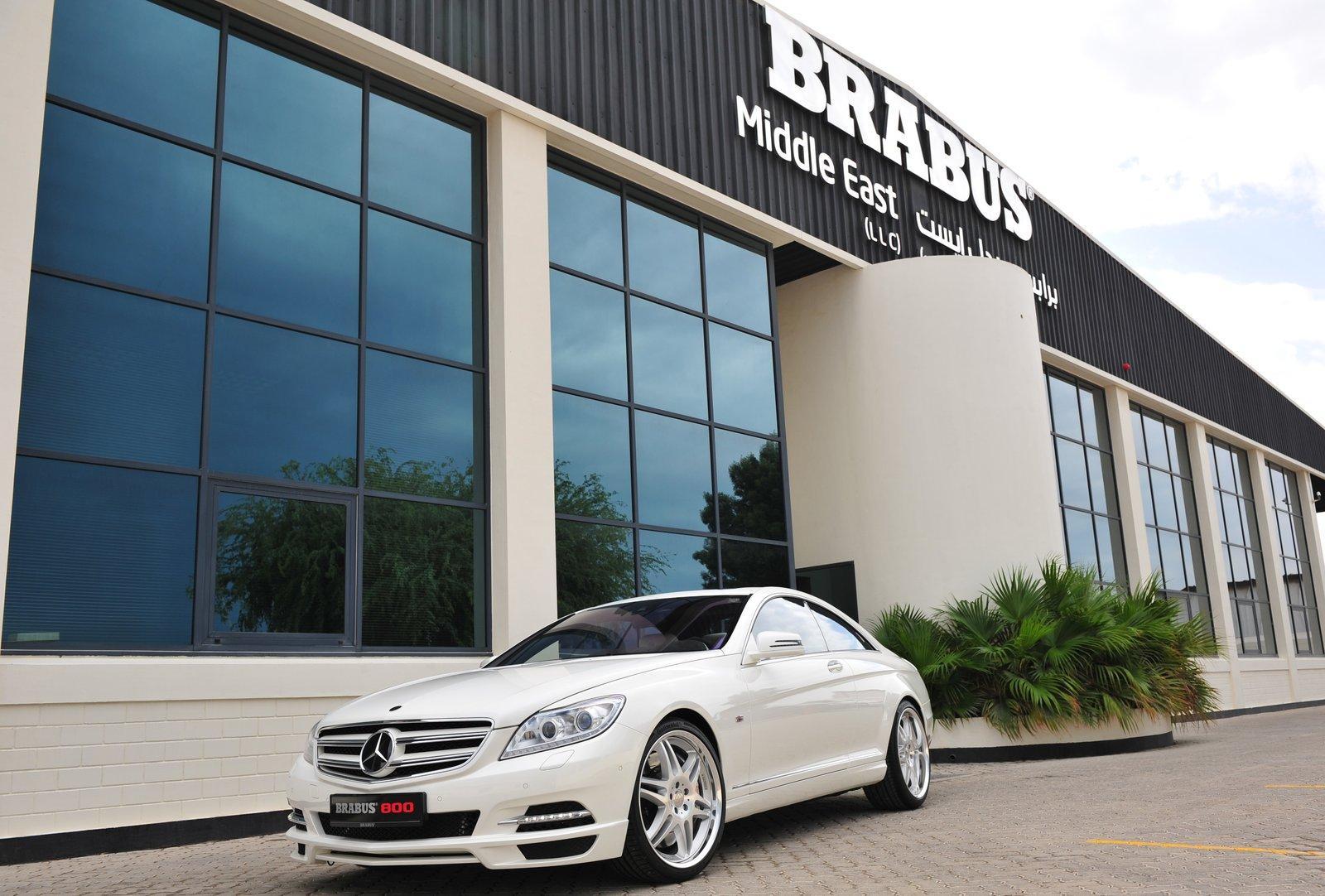 Brabus'tan 800 HP'lik Mercedes CL
