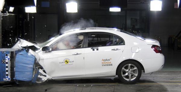 Video: Geely Emgrand EC7 Euro NCAP çarpışma testi