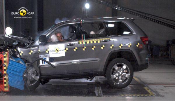Video: Jeep Grand Cherokee Euro NCAP çarpışma testi
