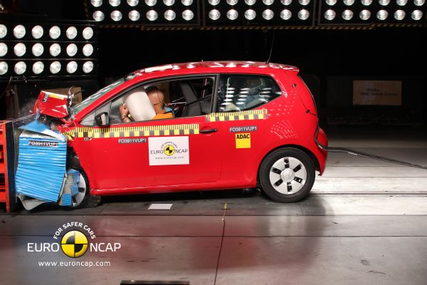 Video: Volkswagen Up Euro NCAP çarpışma testi