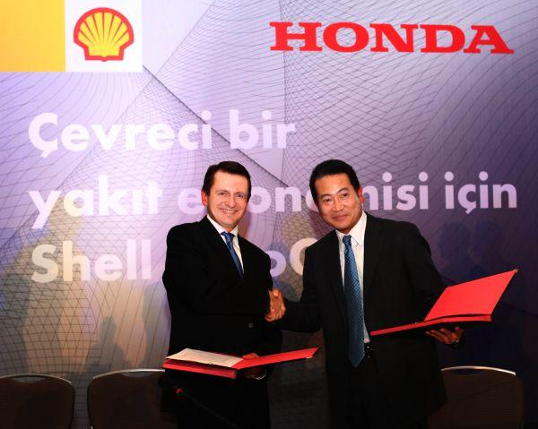 Honda ile Shell LPG konusunda anlaşma imzaladı