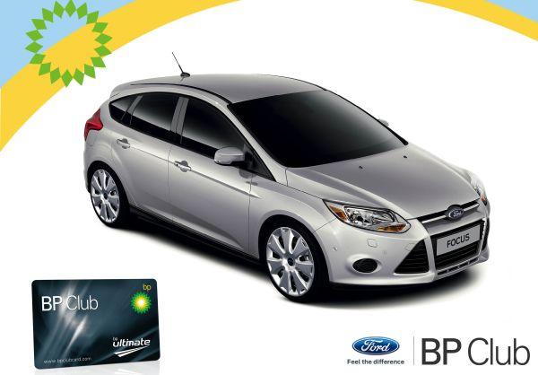 BP Club Card Ford Focus kazandırdı