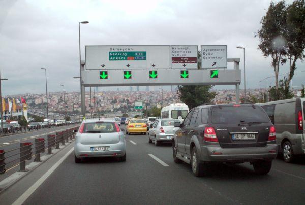 Köprü ve otoyollara 2012 zammı