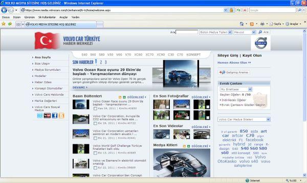 Volvo'dan dijital medya atağı