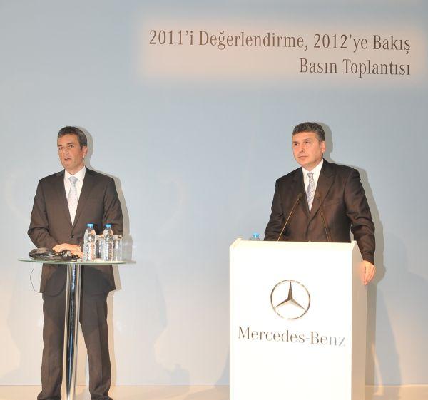 Mercedes-Benz Türk 2011'i rekorlar yılı ilan etti
