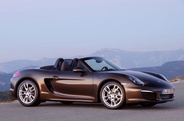 Yeni Porsche Boxster 2012 hazır