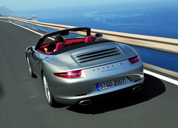Video: Porsche 911 Carrera Cabrio 2012