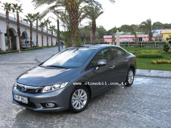 Testilk Sürüş Yeni Honda Civic Sedan 16 Elegance Otomatik 2012
