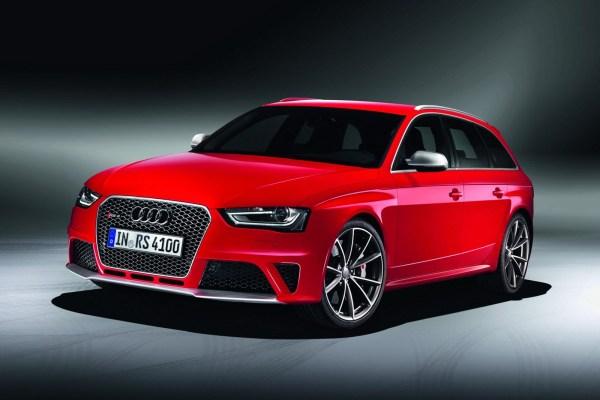 Audi RS4 Avant Cenevre'yi bekliyor
