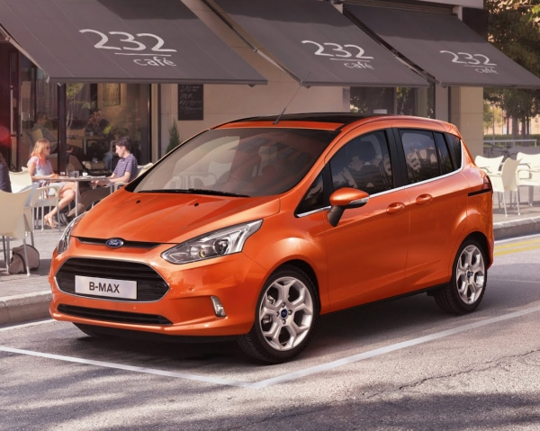 Ford'dan yeni MPV: B-MAX
