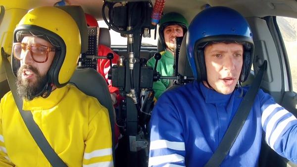 Video: Otomobille müzik/OK go-Needing/Getting